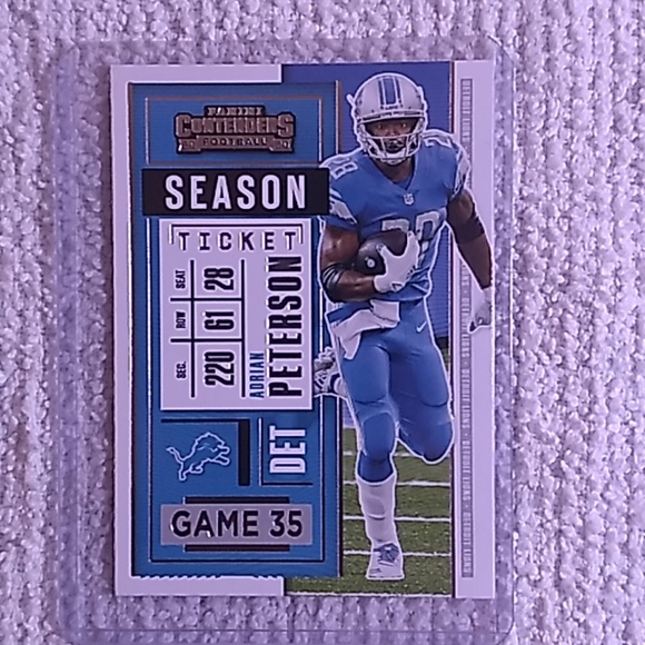 NFL collectable/trading card